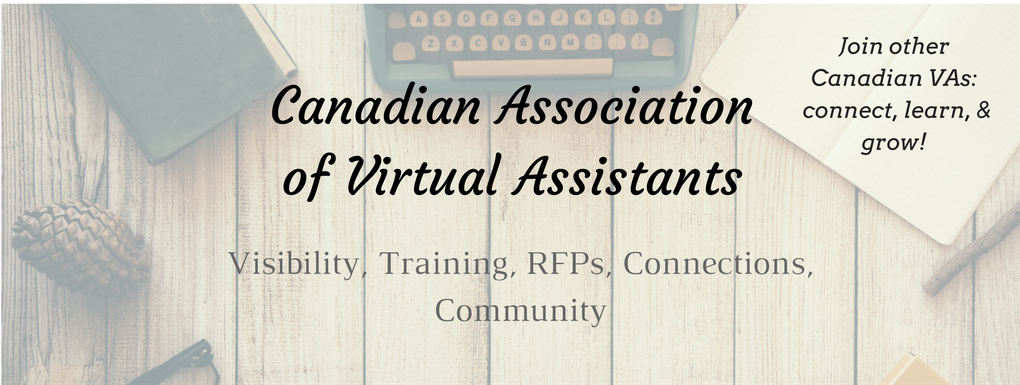 cava the canadian association of virtual assistants professional