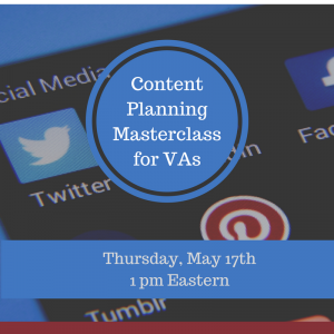 Content Planning Masterclass for VAs